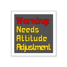 Attitude Adjustment Sticker