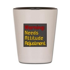 Attitude Adjustment Shot Glass