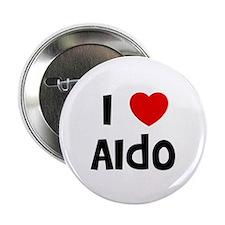 """I * Aldo 2.25"""" Button (10 pack)"""