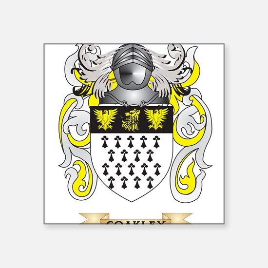 Coakley Coat of Arms Sticker