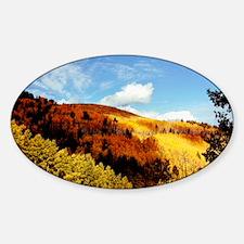 Oval Sticker Sierra Blanca Aspens #82