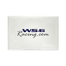 WS6Racing Rectangle Magnet