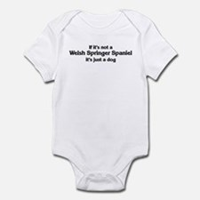 Welsh Springer Spaniel: If it Onesie