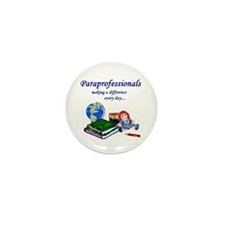 Paraprofessionals Making a Difference Mini Button