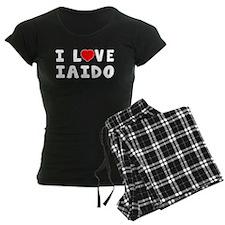 I Love Iaido pajamas