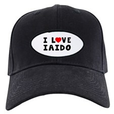 I Love Iaido Baseball Hat