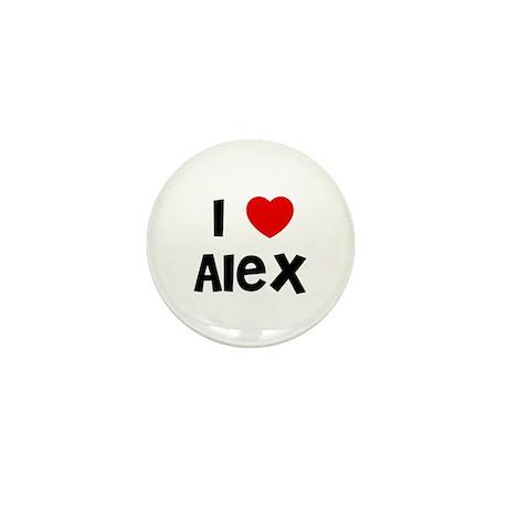 I * Alex Mini Button