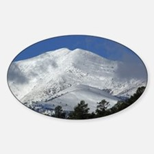 Oval Sticker Sierra Blanca # 4-14