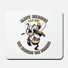 Navy SeaBee - Construction Mousepad