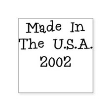 Made in the usa 2002 Sticker