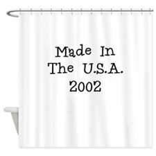 Made in the usa 2002 Shower Curtain
