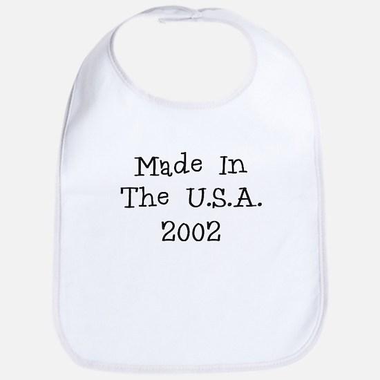 Made in the usa 2002 Bib