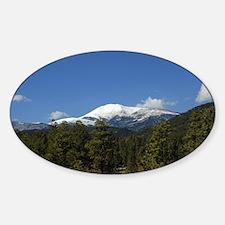 Oval Sticker Sierra Blanca 4-13