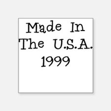 Made in the usa 1999 Sticker