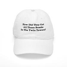 WTC Bombs Baseball Cap