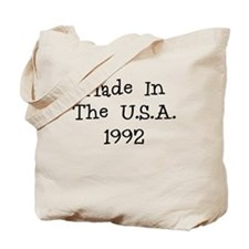 Made in the usa 1992 Tote Bag