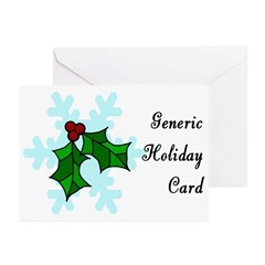 Generic BLANK Inside Greeting Cards Package Of Kwanzaa Cards