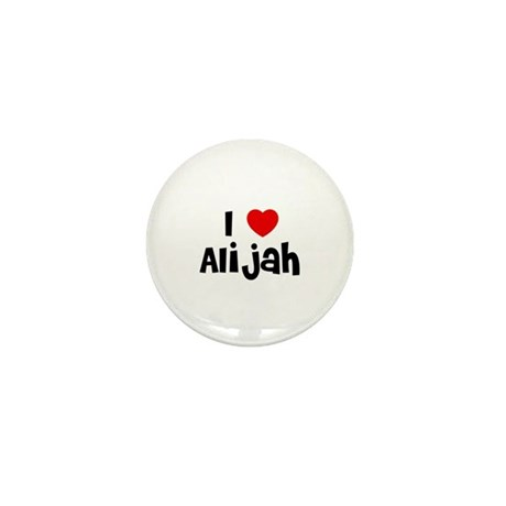 I * Alijah Mini Button