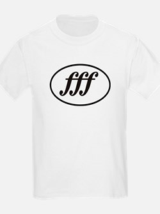 Fortissimo Loud fff Musician T-Shirt