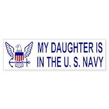 Bumpersticker: My Daughter Is In The Navy