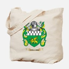 Collins Coat of Arms Tote Bag