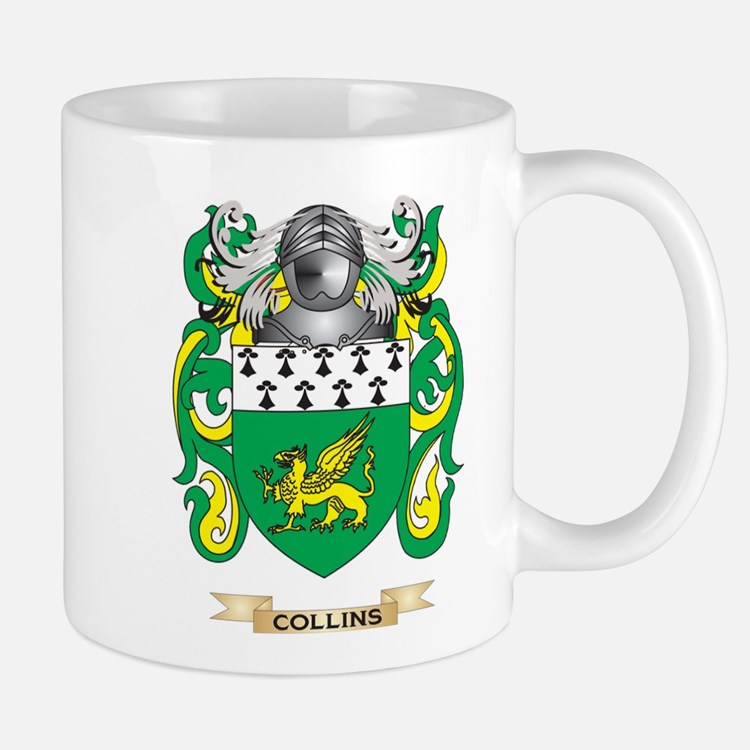 Collins Coat of Arms Mug