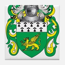 Collins Coat of Arms Tile Coaster