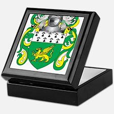 Collins Coat of Arms Keepsake Box
