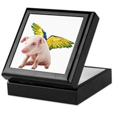 Pigs Fly Keepsake Box
