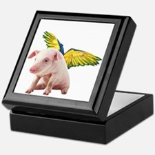 Pigs Fly Keepsake Box