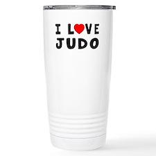 I Love Judo Travel Mug