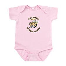 New Navy SeaBee Infant Bodysuit