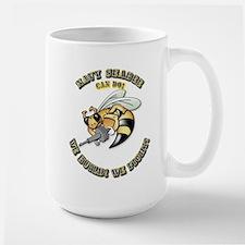 New Navy SeaBee Large Mug