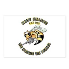 New Navy SeaBee Postcards (Package of 8)