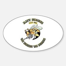 New Navy SeaBee Decal