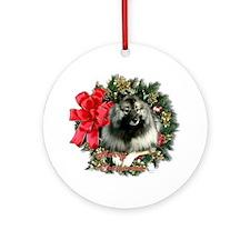 Keeshond Keepsake/Ornament (Round)