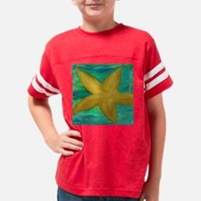 STARFISH WALL CLOCK Youth Football Shirt