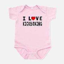 I Love Kickboxing Infant Bodysuit
