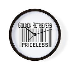 Golden Retriever -- new items Wall Clock