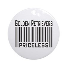 Golden Retriever -- new items Ornament (Round)