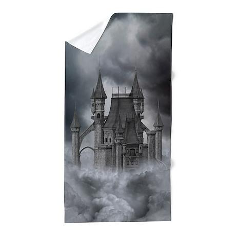 Dark Castle Beach Towel