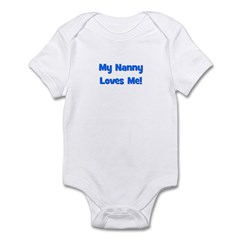 My Nanny Loves Me! Infant Bodysuit