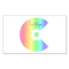 Caitlyn Rectangle Decal