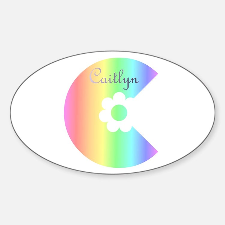 Caitlyn Oval Decal