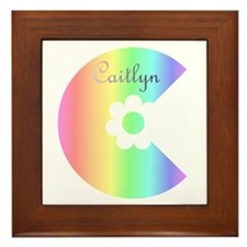 Caitlyn Framed Tile