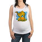 Camel Maternity Tank Top