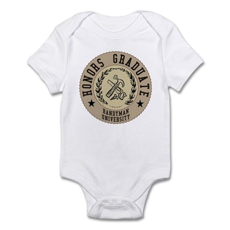 Handyman University Handy Man Infant Bodysuit