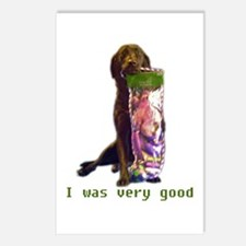 good lab Postcards (Package of 8)