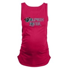 Certified Dolphin Lover Maternity Tank Top
