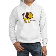 L is for Lion Hoodie